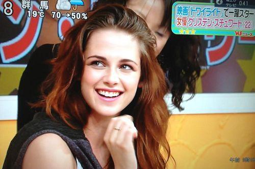 【東京BD2電影宣傳】Kristen Stewart 接受日本 Sukkir電視採訪-20121022(1)i