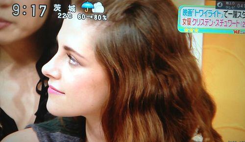 【東京BD2電影宣傳】Kristen Stewart 接受日本 Sukkir電視採訪-20121022 (4)