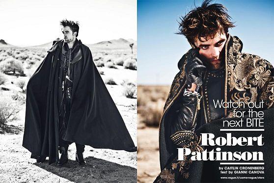 2012 Rob 登上「L'Uomo Vogue」十一月號(4)