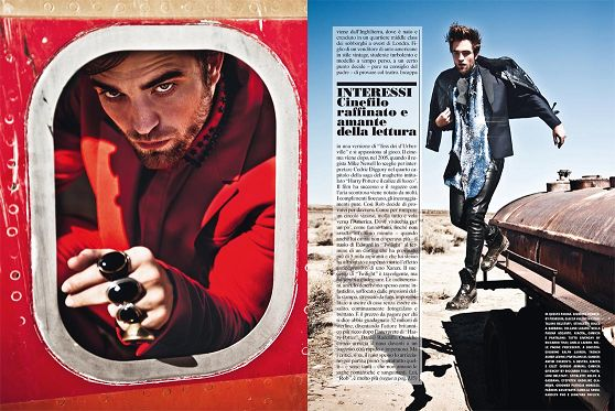 2012 Rob 登上「L'Uomo Vogue」十一月號(7)