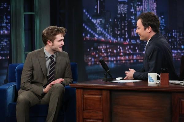 【BD2電影宣傳之旅:紐約】Rob on Jimmy Fallon-20121108 (7)