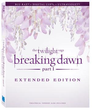 美國版《破曉1》加長版DVD