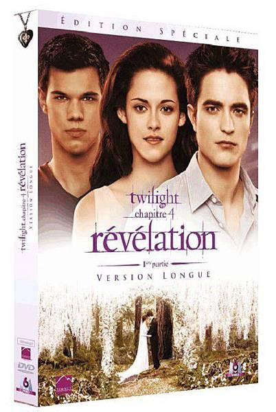 法國版《破曉1》加長版DVD
