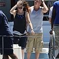 Kristen 在《Camp X- Ray》拍片現場- 20130717 (3).jpg