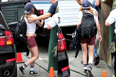 Kristen 新片《Camp X-Ray》開拍 DAY 4-20130720 (10)