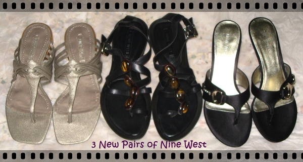 3 Pairs of Nine West.JPG