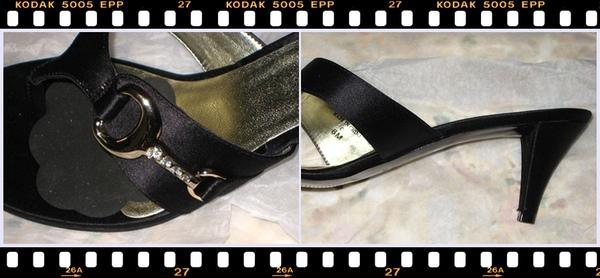 Nine West Black Mid Heel with Gold Buckle (details).jpg