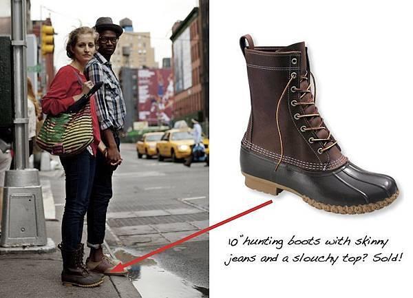 鞋 L L Bean獵鴨靴 終於我也有了雨鞋 Rock人妻 痞客邦