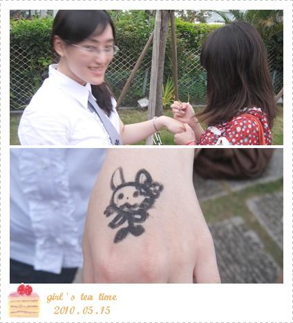 蜜桃畫...兔子吧!