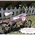 KITTY腳踏車!!感覺好樂活