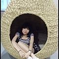 編織的居然可以坐進去噢