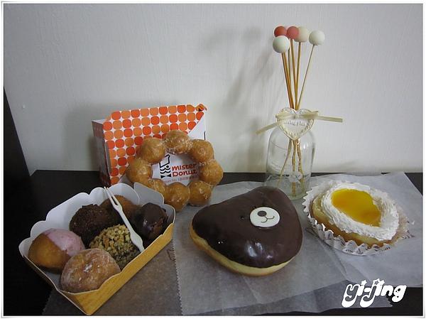 Mister Donut。六小福