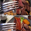 陶阪屋。香蒜瓦片牛肉