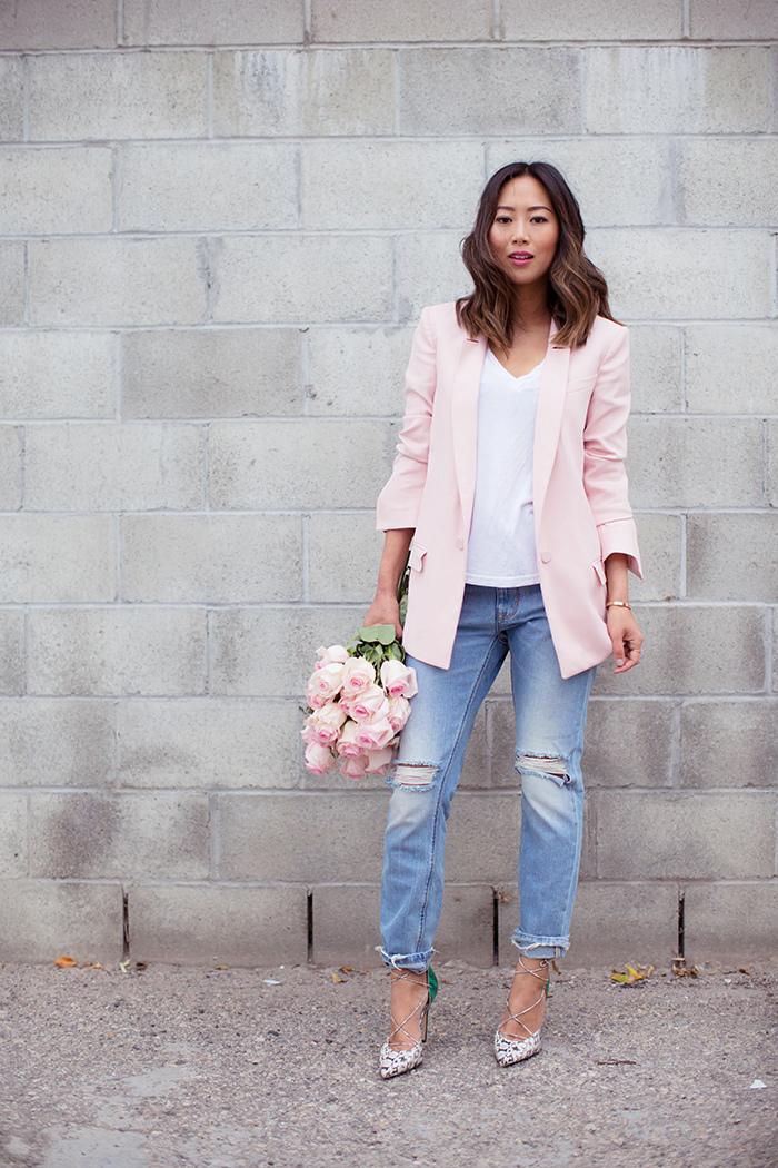 aimee_song_pink_blazer_boyfriend_jeans