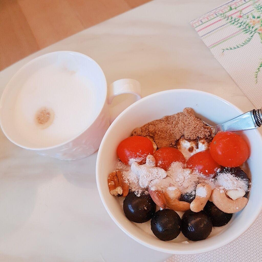 早餐 ♡ 優格或是燕麥粥_170610_0008