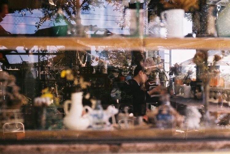 森林般的雜貨店。有兒菈菈樹花園