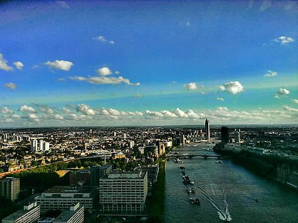 倫敦眼內鳥覽倫敦~!