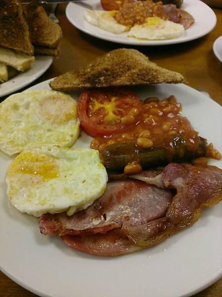 英式早餐,好吃^^