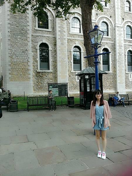 倫敦塔內,應該是白塔吧?