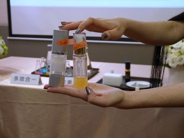 userISM 分效美療 小分子 真空瓶器 蠶絲面膜