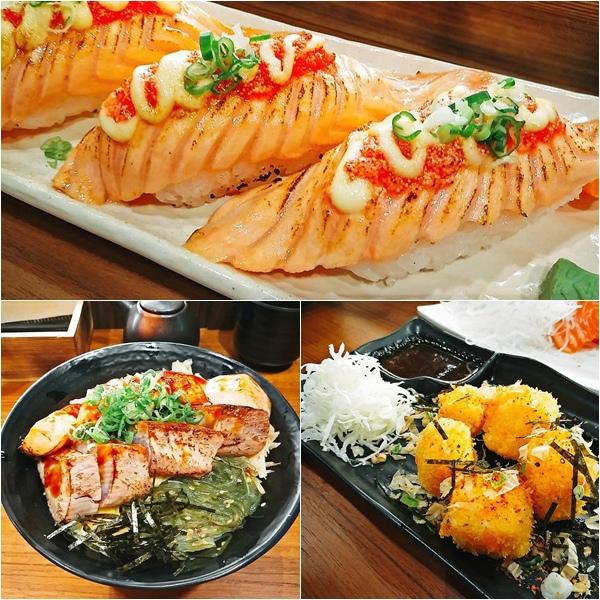松賀日式丼飯 竹北美食 日本料理 聚餐 日本料理 創意