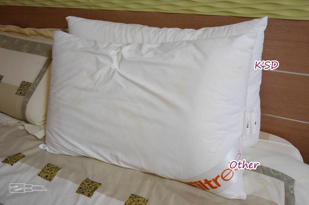 K'SD凱絲蒂 W蓮夢純清系列 頂級超透氣化纖枕 五星級枕頭