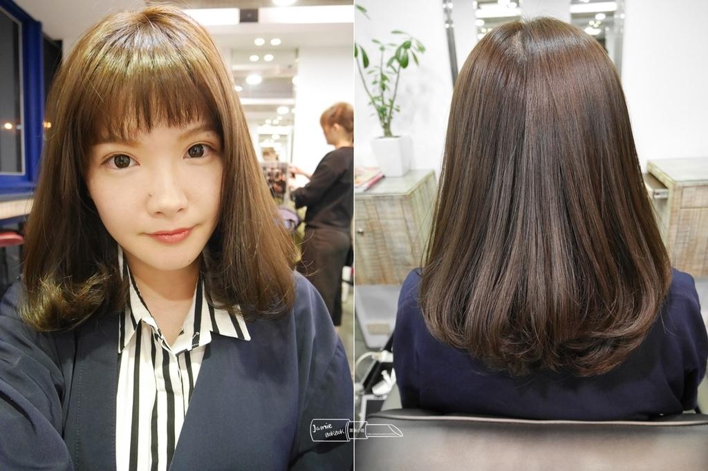 木質髮色 PLUUS 晶鑽護髮 柔彎 混血 日雜髮型