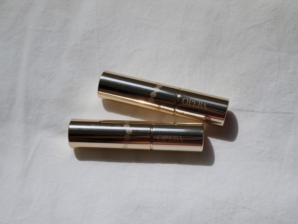 日本開架 OPERA 花嫁唇膏 滋潤唇膏 開架版心機