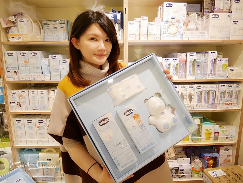 Chicco 原生脂寶貝沐浴禮盒 舒適哺乳彌月禮盒 滿月禮