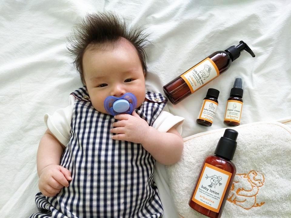 1010HOPE 寶寶保養 erbaviva 美國有機護理品牌 梨花Rinka 孕婦保養