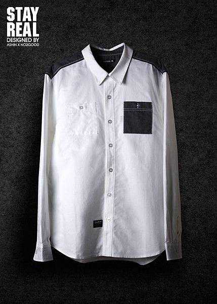 STAYREAL Oxford shirt 牛津襯衫(WHITE)