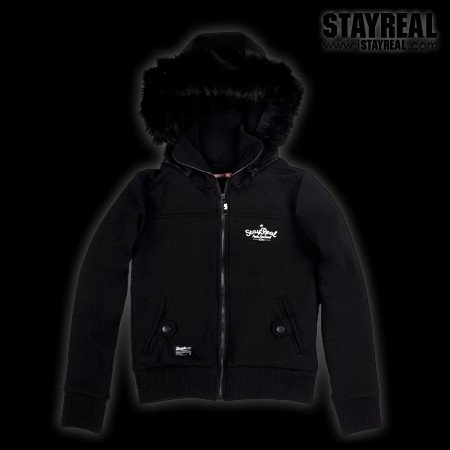 STAYREAL Midnight Party Hoodie 冬夜派對帽夾