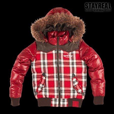 STAYREAL Preppy Style Warm Tech Jacket 美式校園羽絨外套