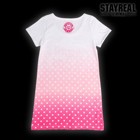 STAY REAL X Chupa Chups Sweetie Secret T ★ ★ [ 東京限定 ] 水蜜桃粉