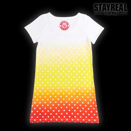 STAY REAL X Chupa Chups Sweetie Secret T ★ ★ [ 夏日限定 ] 柳橙黃