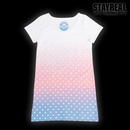 STAYREAL X Chupa Chups Sweetie Secret T甜秘密棒棒糖T(薄荷藍)-2