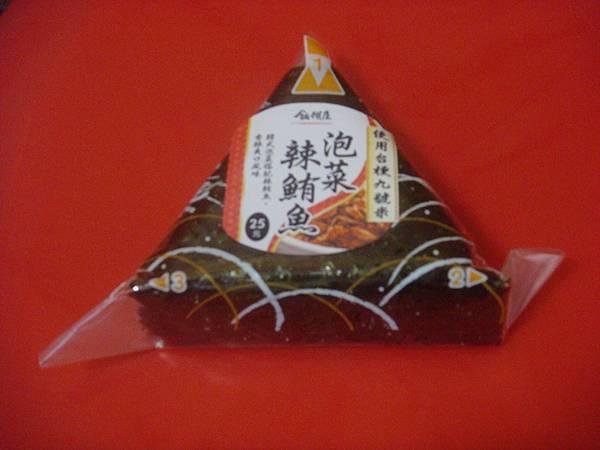 全家 三角飯糰 新口味 - 泡菜辣鮪魚
