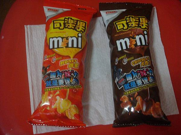 mini可樂果 - 蜂蜜、巧克力
