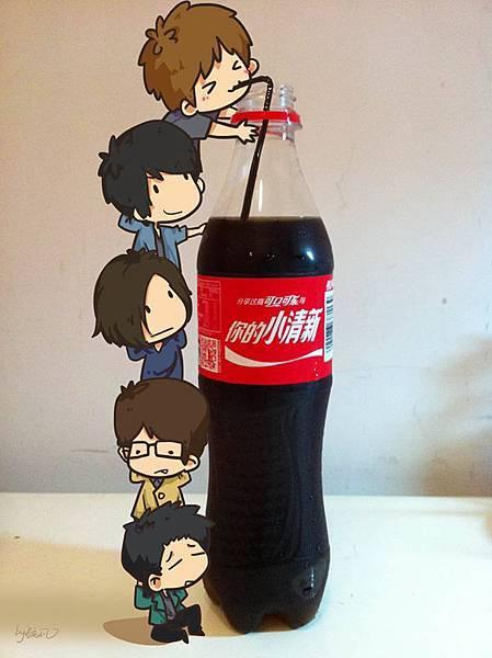 MAYDAY 代言 可口可樂