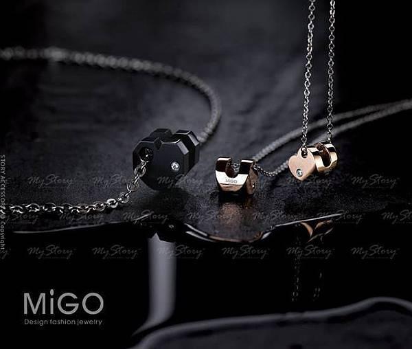 MiGO 的 『 LOVE U 』項鍊 ( 民視 偶像劇 ★ 我愛你愛你愛我 ★ 周邊作品)
