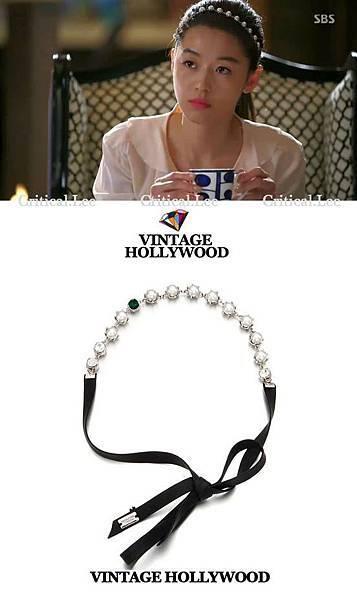 千頌伊的髮帶 - VINTAGE HOLLYWOOD (品牌) 韓幣79,800 【 韓劇 - 來自星星的你 】