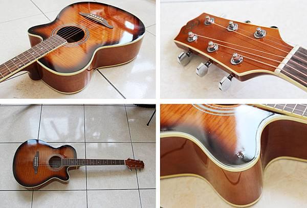 木板民謠吉他 MJG3040C