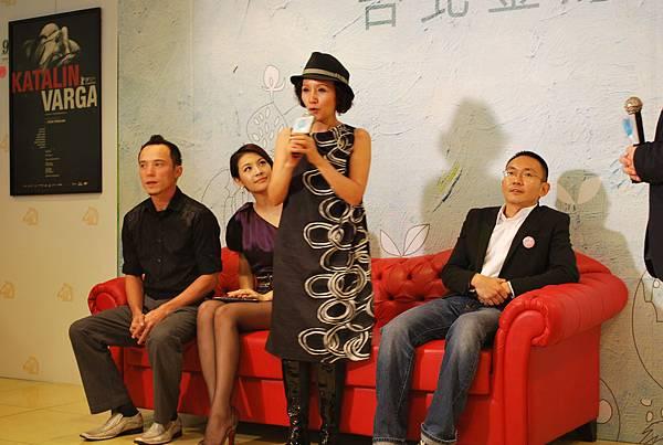 台灣電影圈不得缺少的資深演技派演員,陸弈靜