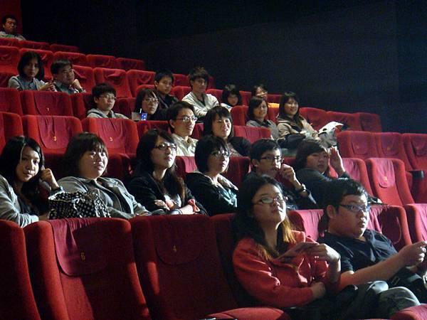 留下來的觀眾都非常喜歡《台北星期天》