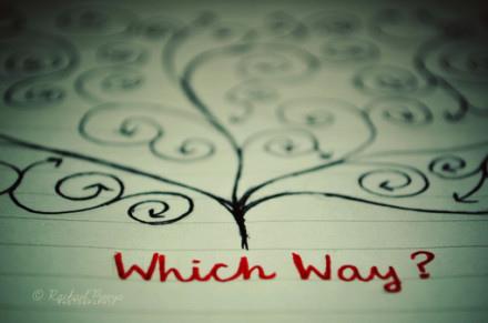 人生就像是一道多項選擇題,困擾你的,往往是眾多的選項,而不是題目本身。