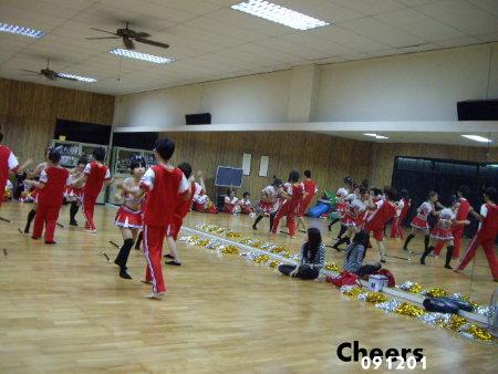 瑜珈教室練習