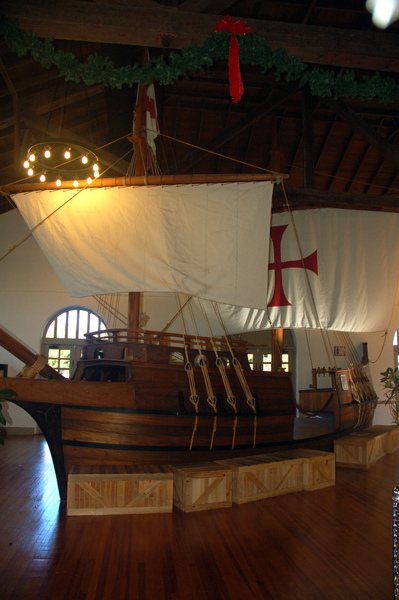 當年航海傳的模型