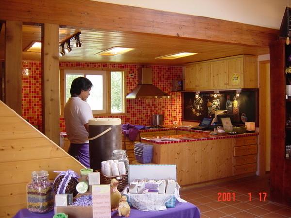 喜歡的開放式廚房