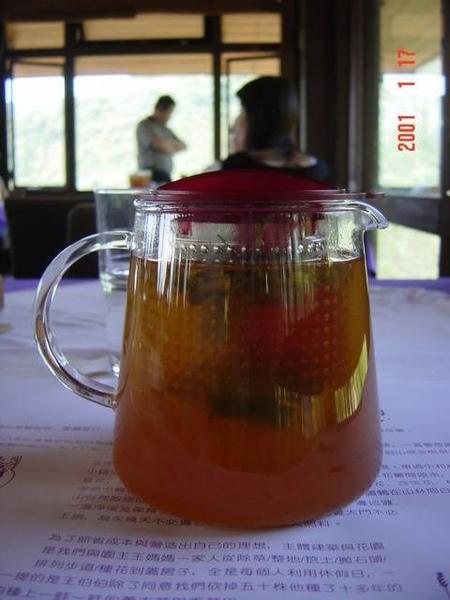 我點的檸檬草柚子茶