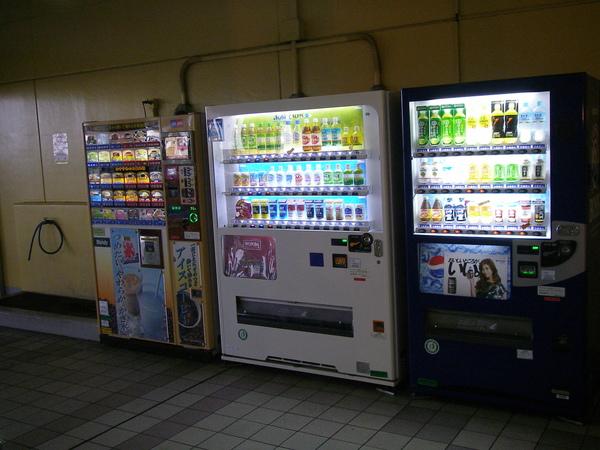 日本隨處可見的販賣機